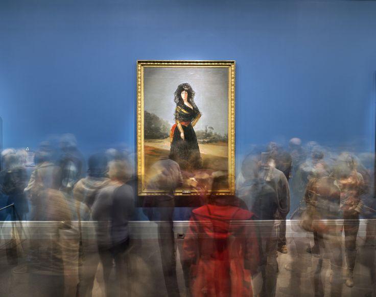 Matthew Pillsbury - Goyas Duchess of Alba, Museum of Fine Arts, Boston, 2014