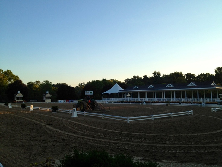 Outdoor Arena Lights: Lamplight Equestrian Center outdoor arena,Lighting