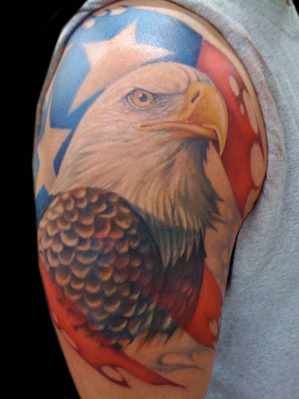 159 best images about tattoos ink on pinterest military for Patriotic tribal tattoos