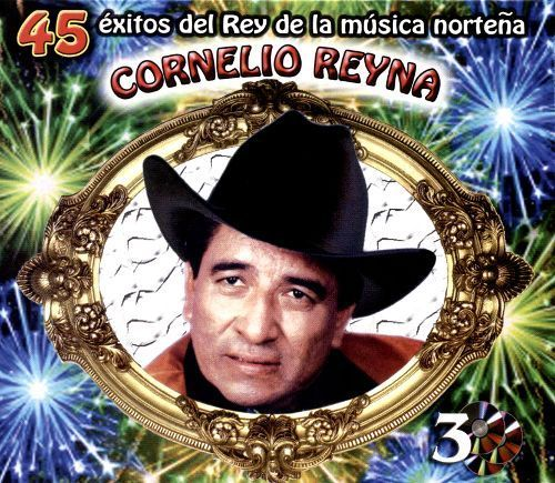 45 Exitos del Rey de la Musica Nortena [CD]