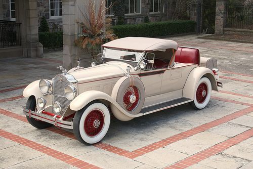 1929 Packard Model 640 Custom Eight Roadster #classiccars #autos #cars #profollica #newcars