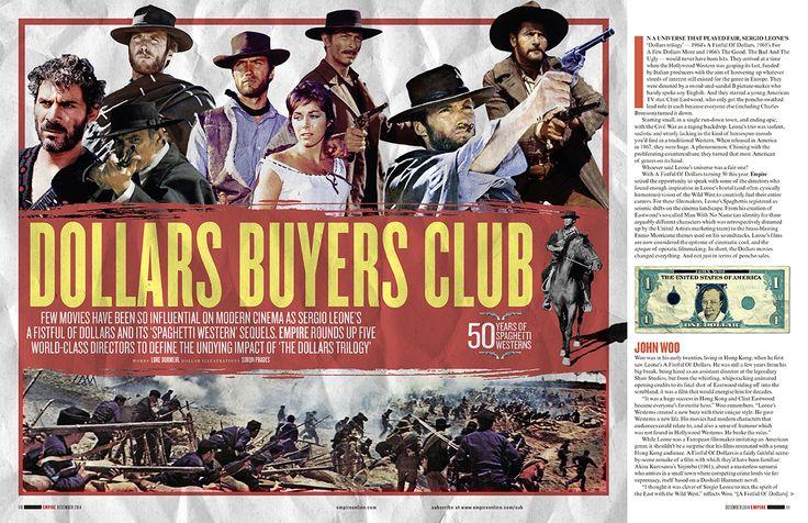 Leone Trilogy / Empire Magazine by Adam Gerrard
