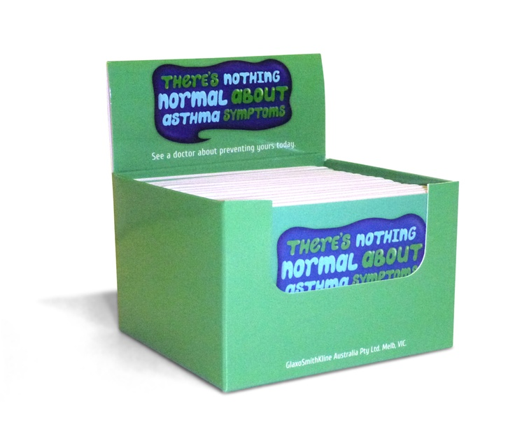 GSK Z-CARDs in Point of Sale Box