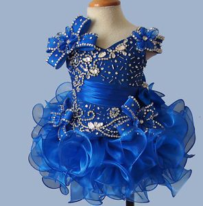 Little Girls Pageant Dress Custom made size and color