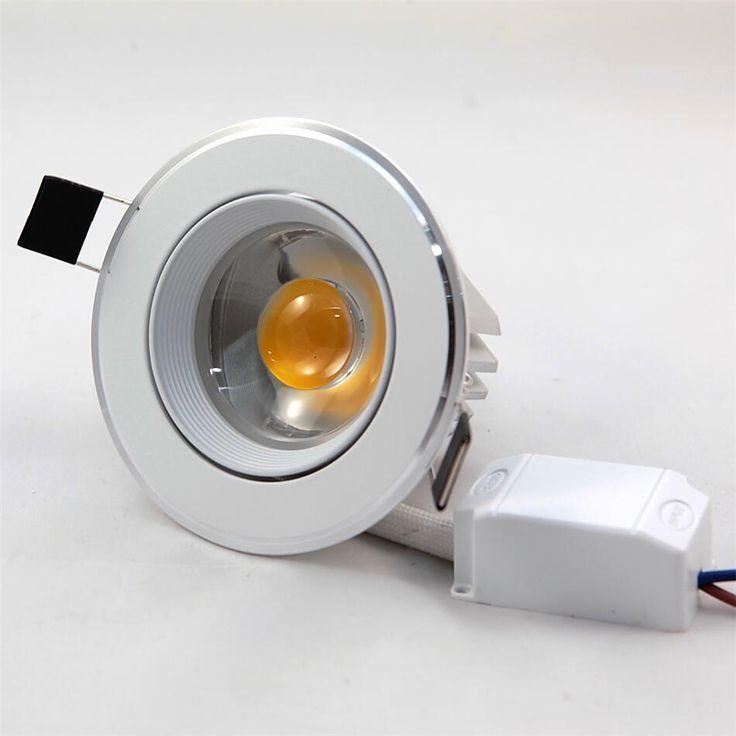 Free Shipping 7W 10W 12W 15W COB LED Ceiling Down Light COB 7W Ceiling Spotlight Ceiling White fixture AC 85-265V #Affiliate