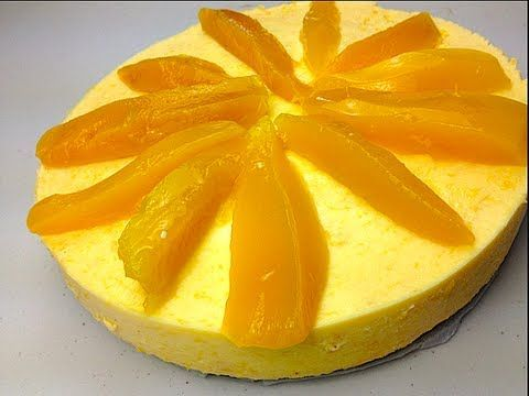 Mango Cheesecake (Eggless) Recipe by Manjula - YouTube