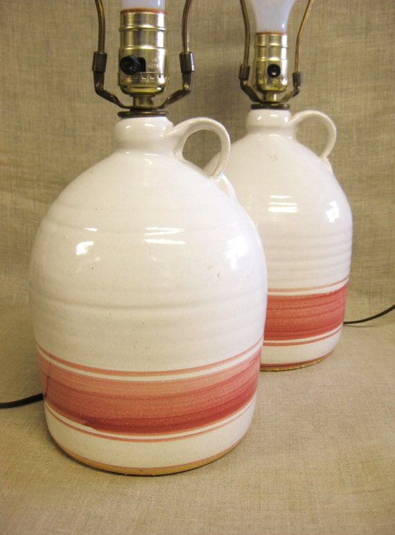 Table Lamps Bedside Lamps Ceramic Lamps Jug Lamp Pink