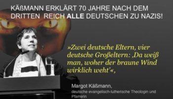 Margot Käßmann: Jeder Deutsche mit deutschen Eltern und Großeltern ist ein Nazi!