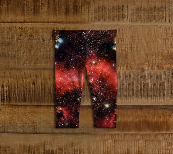 Pink Galaxy Baby Leggings - Available Here: http://artofwhere.com/shop/product/73077