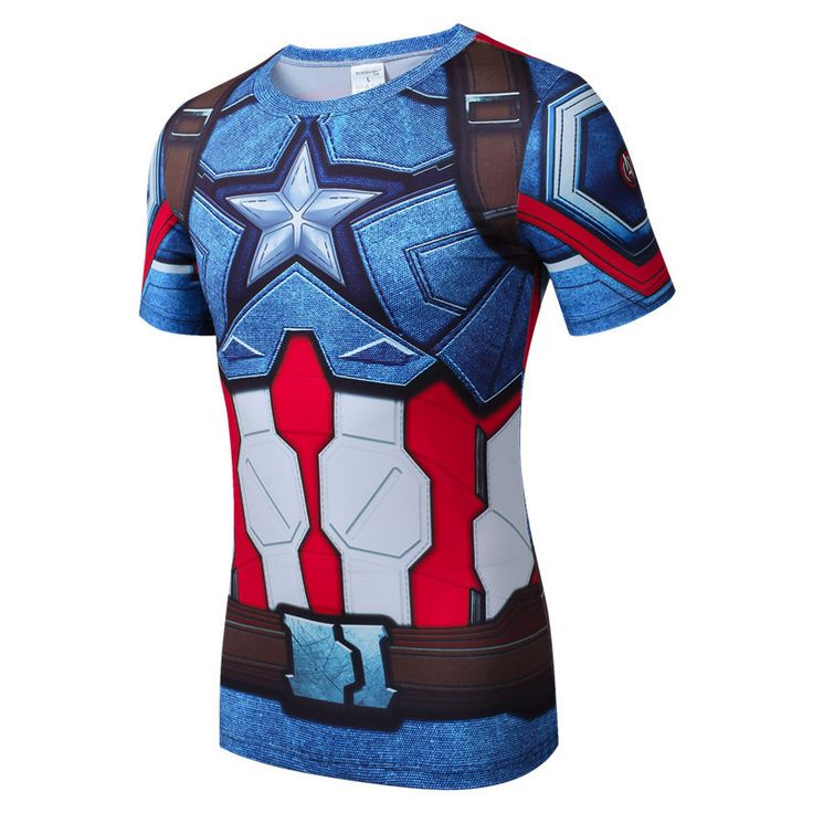 Quick Drying Compression Shirt Breathable Bodybuilding T Shirt Men Motion Tight 3D