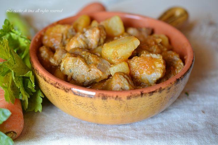 Spezzatino con patate bimby