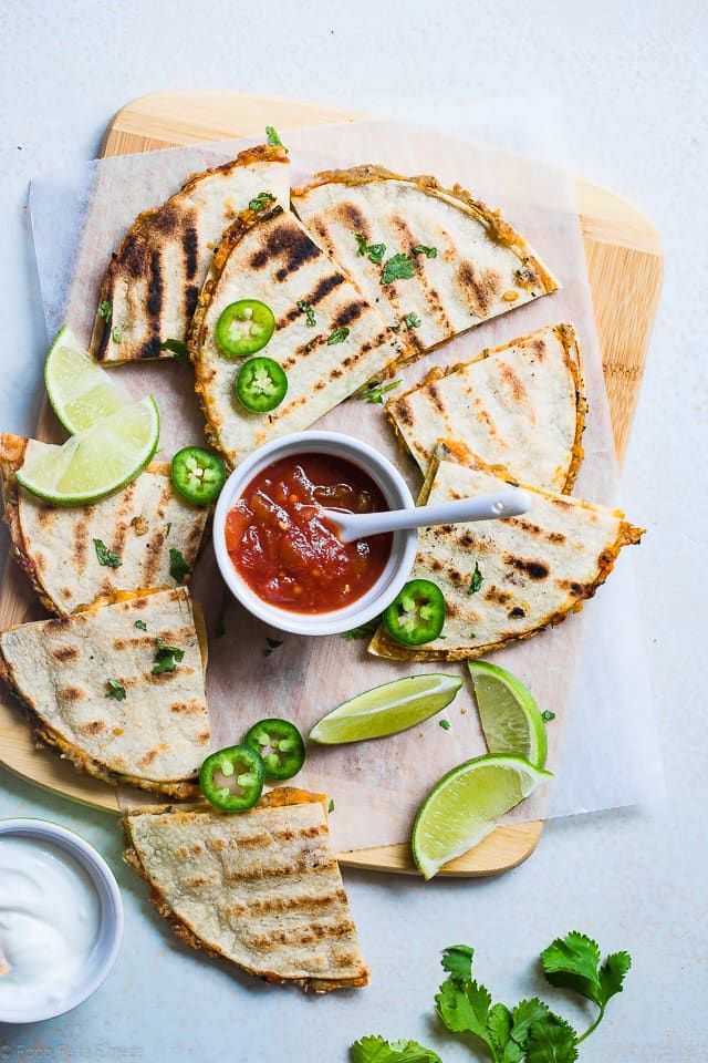 This quick and easy grilled Mexican Quesadilla recipe is a tasty summer dinner for meatless Monday! Make them for a weeknight meal that everyone will love!