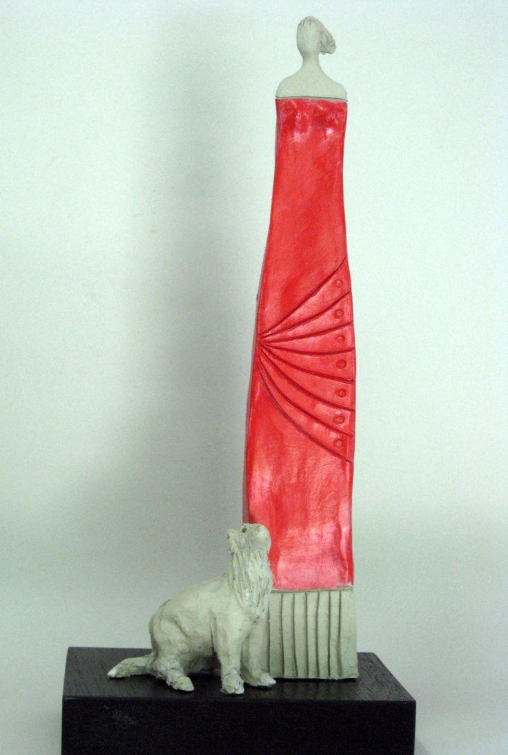 Terracotta titolo Mirian e Pedro misure 34x13x8