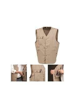 Ka-Bar 6-1492-7 TDI Tactical Concealment Large Khaki Vest ! Buy Now at gorillasurplus.com