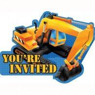 Under Construction Invitations (8pk) $7.95 20895955