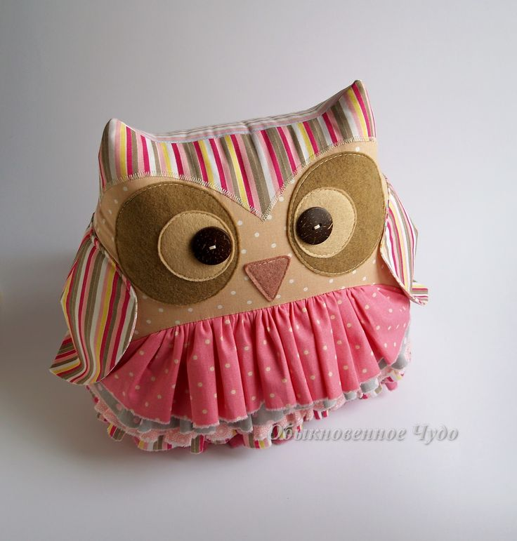 диванная подушка сова - Поиск в Google