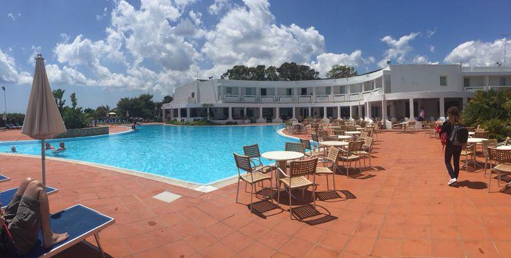Hotel Flamingo sulla spiaggia di Santa Margherita di Pula