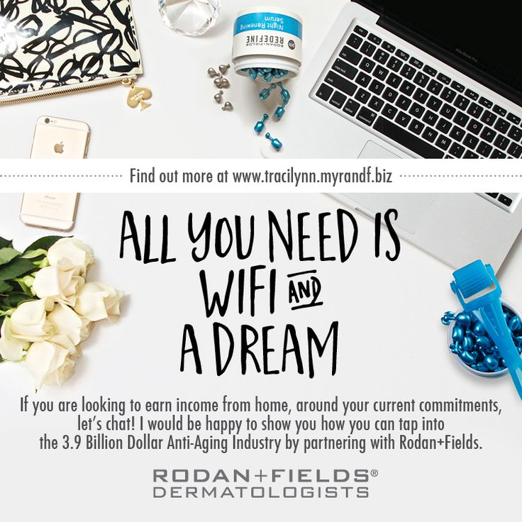 Rodan + Fields is being raved upon by all the top magazines as well as many celebrities. If you are looking for a direct selling company to be involved with, then you'd be delighted to find R+F! NO inventory, NO money handling, and NO party requirements! Work when you want and how often you want! Why not partner with the Proactiv doctors, Dr Katie Rodan & Dr Kathy Fields, in their newest anti-aging brand?? Let's chat, message me today!