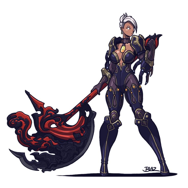 Blade and Soul: Destroyer by Blazbaros on DeviantArt