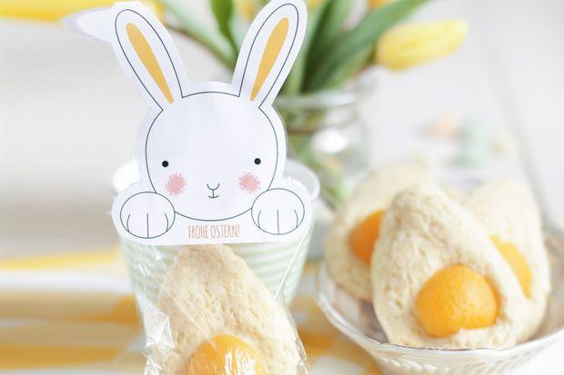 """Last-Minute-Idee ! für Ostern: süße """"Spiegeleier"""" mit Rezept."""