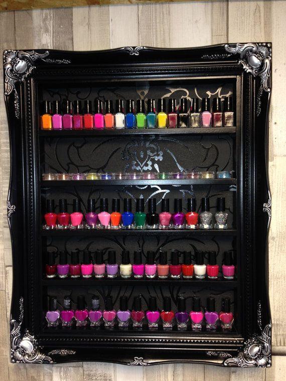 Esmalte de uñas Rack almacenamiento gabinete por ChicybeeDisplayUK