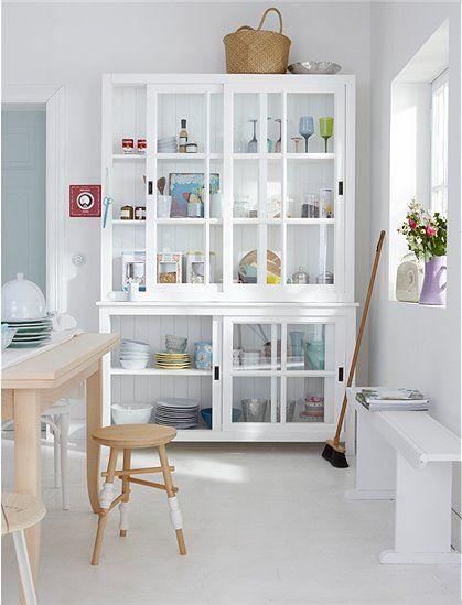 11 besten Schränkchen Bilder auf Pinterest Holzbänke, Reisen und - Wohnzimmermöbel Weiß Landhaus
