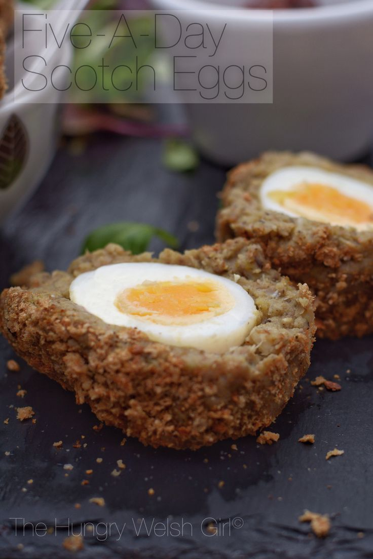 Scotch eggs with Quorn, meat-free, vegatarian, 5 a day, snacks