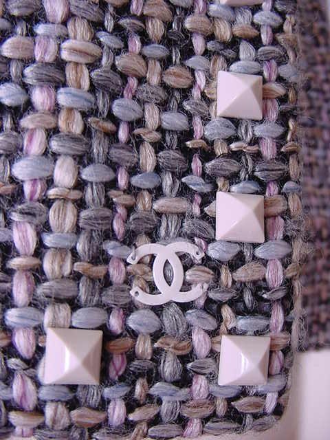 chanel tweed fabric - Google Search