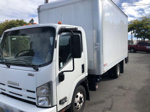 2012 Isuzu Npr Diesil Box Truck With Lift Gate Used Trucks Best Tyres Truck And Trailer