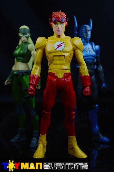 Young Justice Kid Flash (Young Justice) Custom Action Figure
