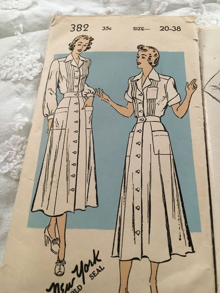 Nursing Uniform Pattern 45