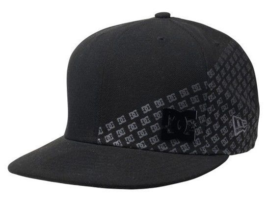 DC SHOES Mens Meme New Era 59Fifty Hat with Flat Brim NWT #DCShoes #WideBrim
