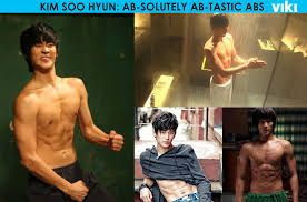Image result for Kim Soo Hyun abs