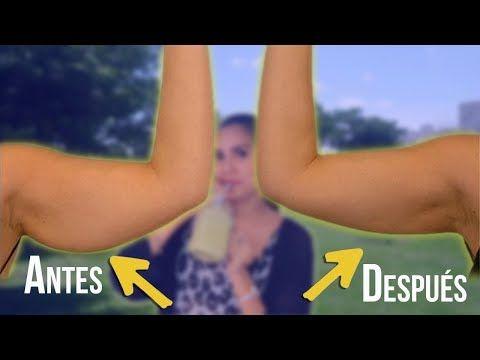 ejercicios para perder la flacidez delos brazos