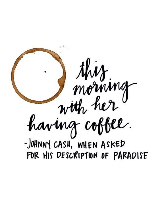 Instant Download Printable This Morning With Her Having Etsy In 2021 Johnny Cash Quotes Cash Quote Johnny Cash Art