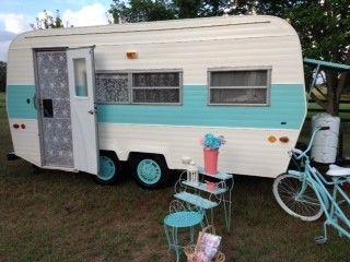 18 Foot Vintage Camper For Sale