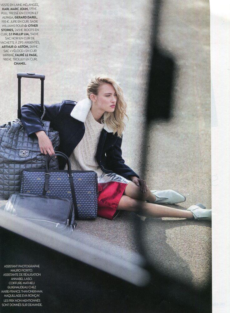 Sac Veloce Fauré Le Page, BIBA, Décembre 2014, #travelbag