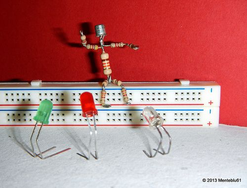 Master & Disciples  New photo project dedicated to reuse of old electronic components.