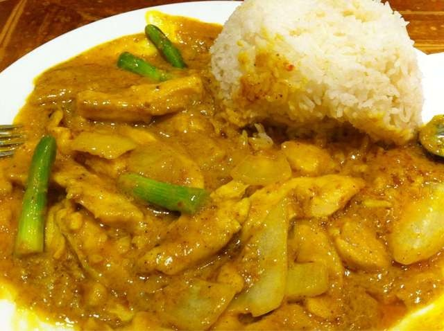 Chicken curry at one of our favourite vietnamese for Perfect kitchen restaurant mississauga