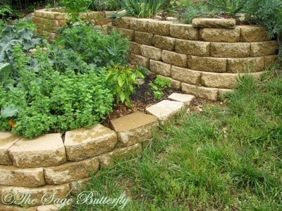 17 best images about garden ideas steep slopes on for Terrace vegetable garden ideas