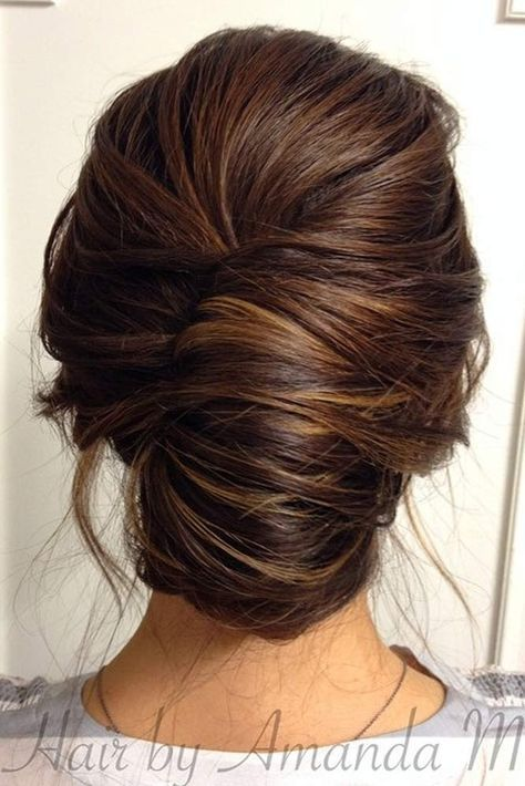Easy Updos for Long Hair ★ See more: http://lovehairstyles.com/easy-updos-for-long-hair/