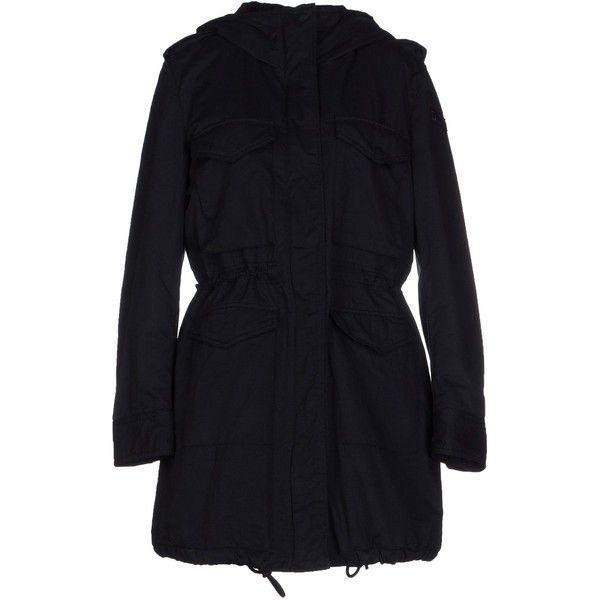 Diesel Jacket ($230) ❤ liked on Polyvore featuring outerwear, jackets, black, black parka jacket, padded parka, zipper jacket, black zipper jacket and padded parka jacket
