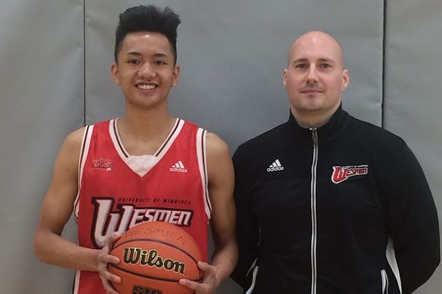 """Sisler's Don Dayrit Commits to Wesmen Basketball for 2017-18 Season   Photo Credit: Winnipeg Free Press  The University of Winnipeg Wesmen and Men's Basketball head coach Mike Raimbault have announced the commitment of Don Dayrit (Winnipeg Manitoba) to the Men's Basketball program for the start of the 2017-2018 Canada West season this September. Dayrit a 6'0"""" guard recently completed his final season as a member of the Sisler Spartans. During the season he averaged 27.9 points and four…"""