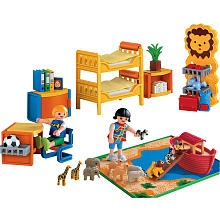Playmobil Family Room Playset Children's Room Lacy Wish