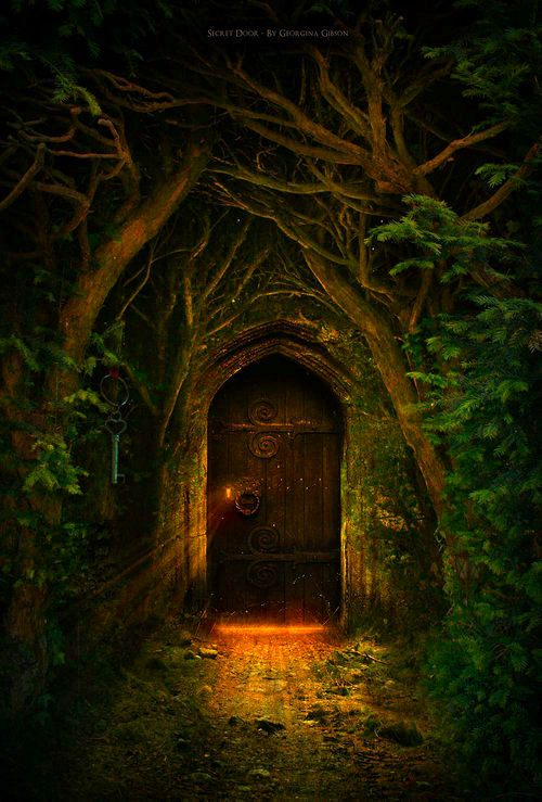 "Secret Garden: 678 Best Images About "" ENCHANTED DOORS "" And Gateways On"