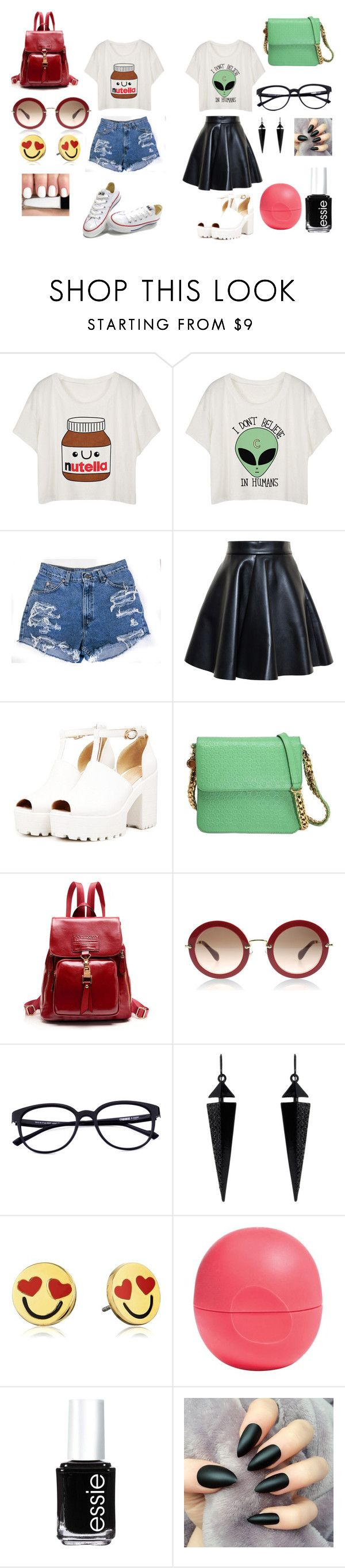"""""""+"""" by dragan-2001 on Polyvore featuring мода, MSGM, STELLA McCARTNEY, Oasis, Kate Spade, Eos и Essie"""