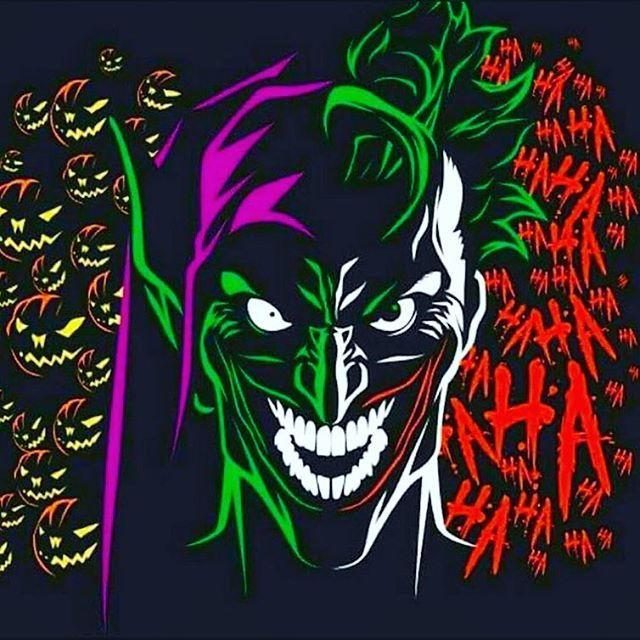 Perfect blend of crazy: Green Goblin + The Joker