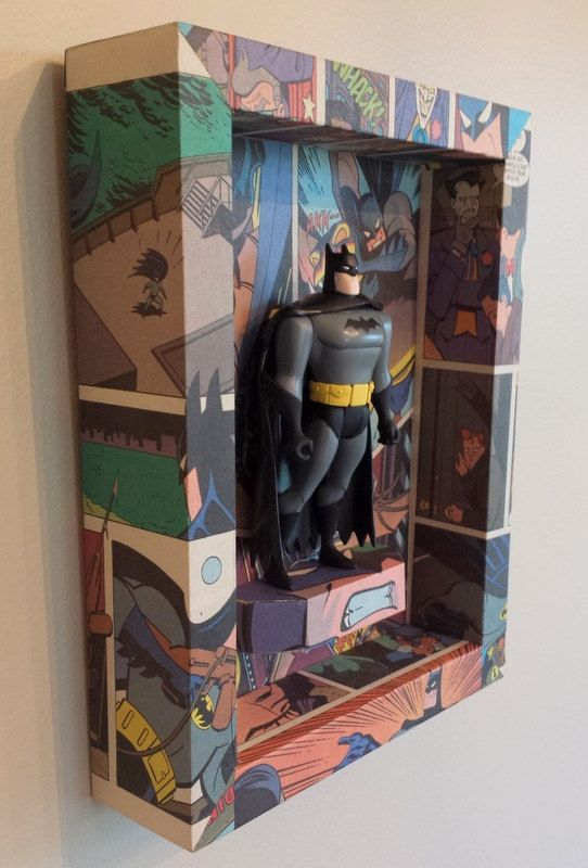 Batman The Animated Series Batman Figure and by GeeksWorkshop