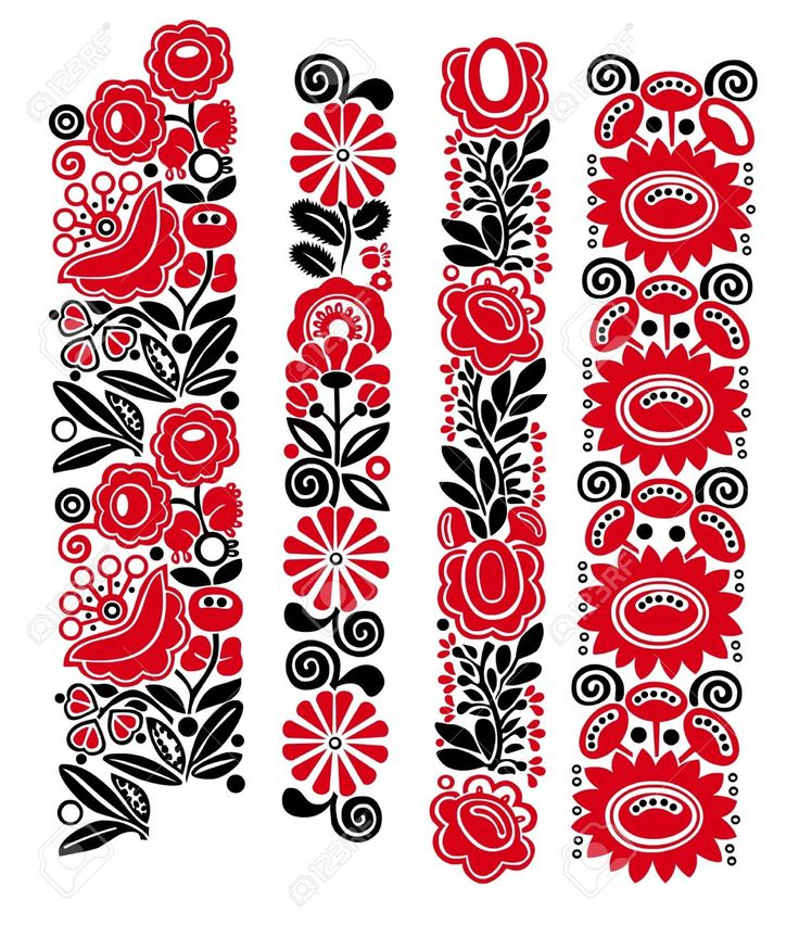 Traditional Hungarian Floral Patterns Royalty Free Cliparts, Vectors, And Stock Illustration. Pic 16449964.