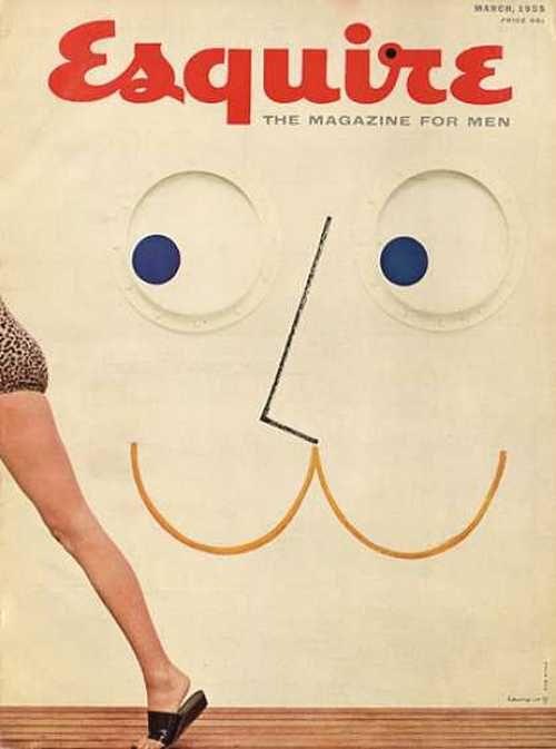Esquire magazine, March 1955.